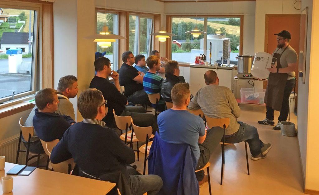 Bryggekurs fredag 2. september Buvik ølfestival 2016