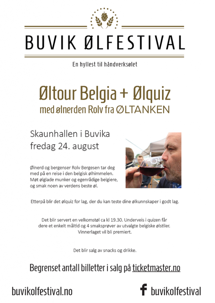 Fredagsarrangement Buvik ølfestival 2018