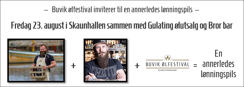 En annerledes lønningspils på Buvik ølfestival